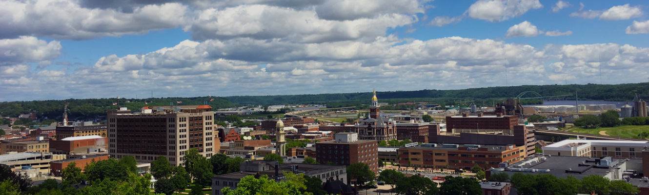 The Dubuque skyline